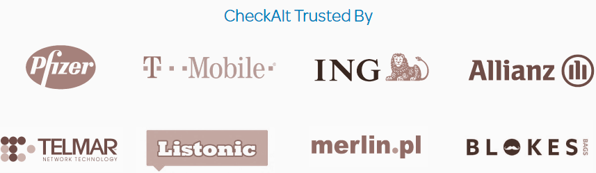 CheckAlt Trusted By